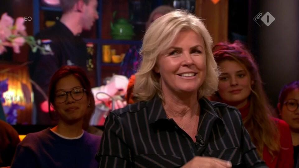 Irene Moors over 'Doorbakken', het napraatprogramma van Heel Holland Bakt