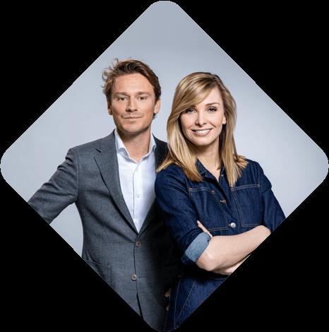 Sander Schimmelpenninck en Welmoed Sijtsma
