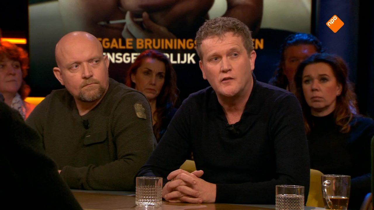 Alberto Stegeman en Edwin van Katwijk over het gevaar van illegale bruiningsmiddelen