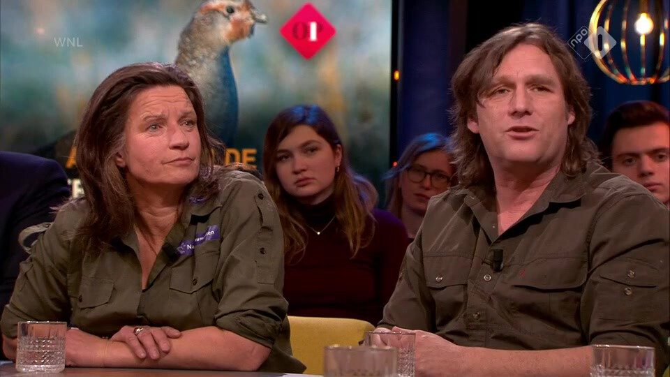Boswachters Arjan Postma en en Mathiska Lont over alarmerend WNF rapport: het gaat slecht met de natuur in Nederland