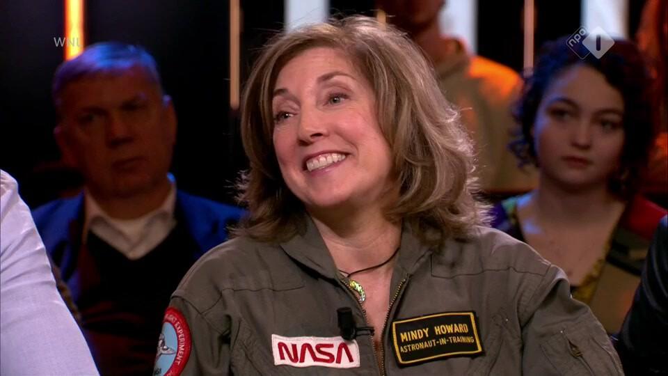 Mindy Howard wordt de eerste vrouwelijke astronaut die voor Nederland de ruimte in gaat
