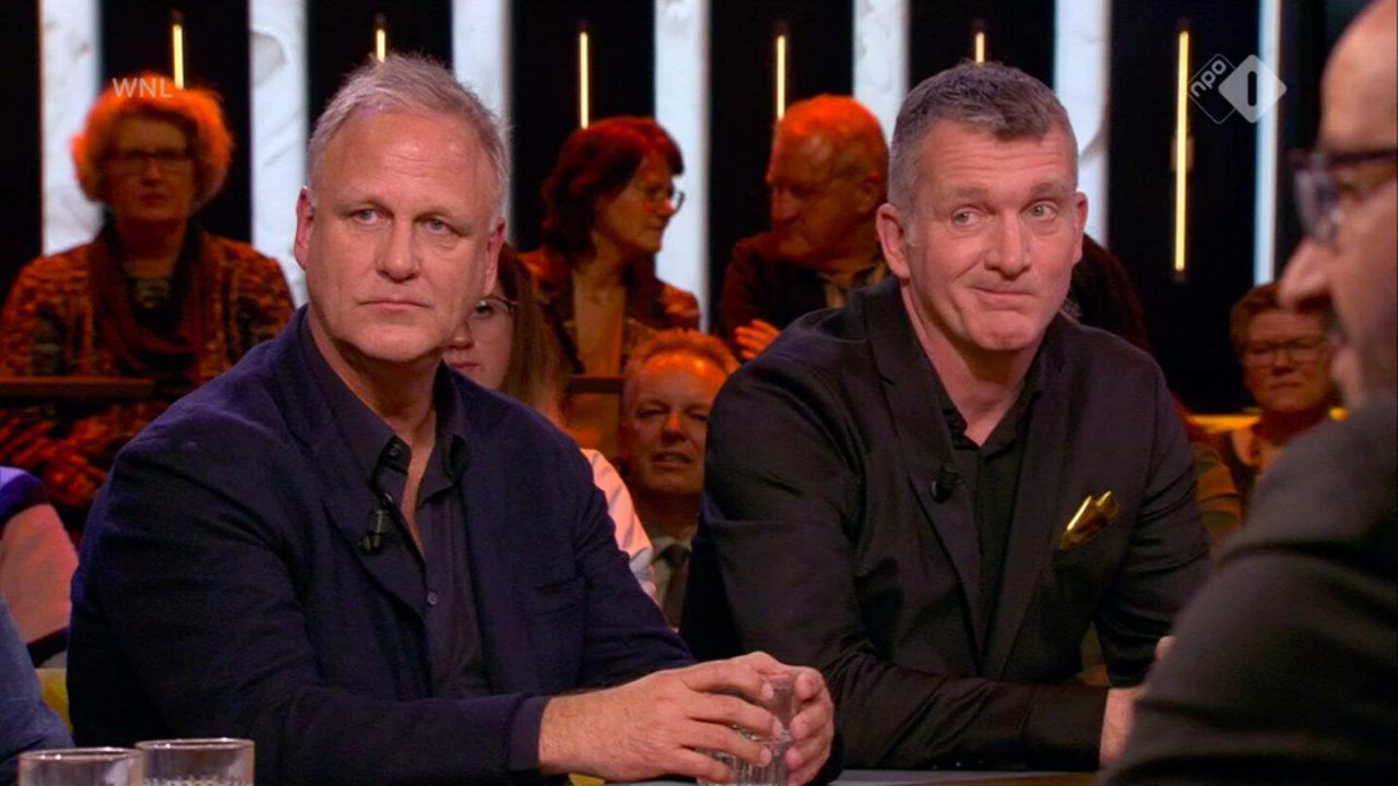 Reclameman Aad Kuijper en STER-directeur Frank Volmer over de 25e Gouden Loeki