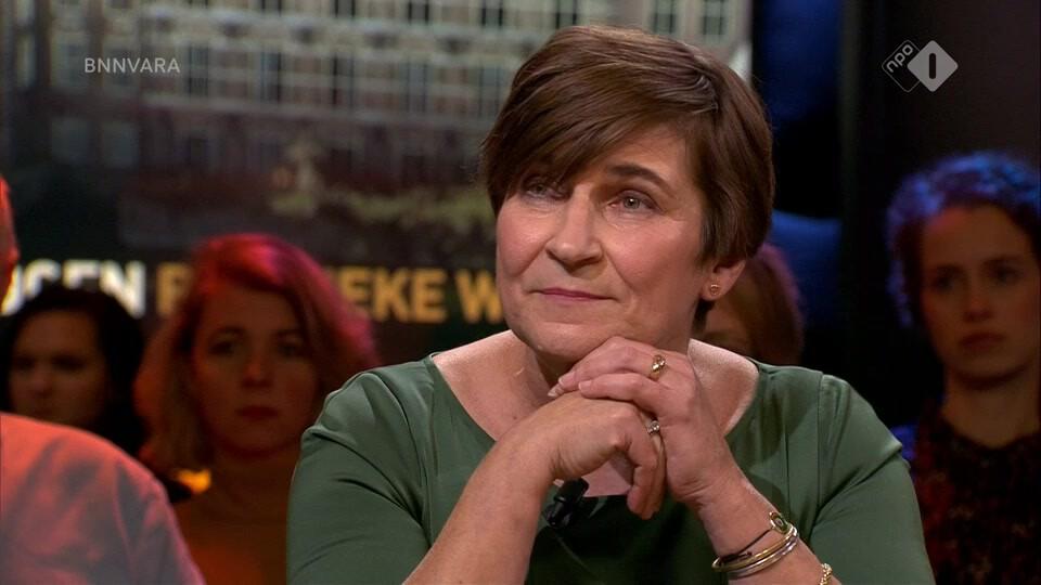 Lilianne Ploumen (PvdA) en Joost Vullings bespreken de turbulente politieke week