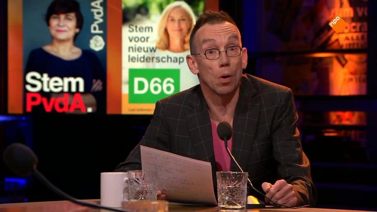 Dolf Jansen vat het politieke spektakel samen in 'Een stukje duiding door Dolf'